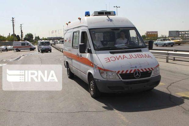 انحراف خودرو در جاده یاسوج - شیراز یک کشته و ۵ زخمی بر جای گذاشت