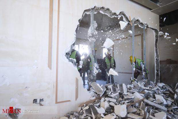 عکس/ تخریب ویلای غیرمجاز دختر وزیر اسبق