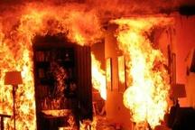 شرکت تولید رنگ زرندیه در آتش سوخت