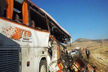 تصادف ۲ دستگاه اتوبوس در مهریز پنج زخمی بر جا گذاشت