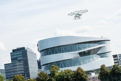 حضور تاکسیهای هوایی در المپیک پاریس