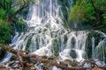 نجات جان گردشگران گرفتار در آبشار شوی