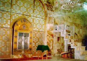 محل ضربت خوردن امام علی(ع)+عکس