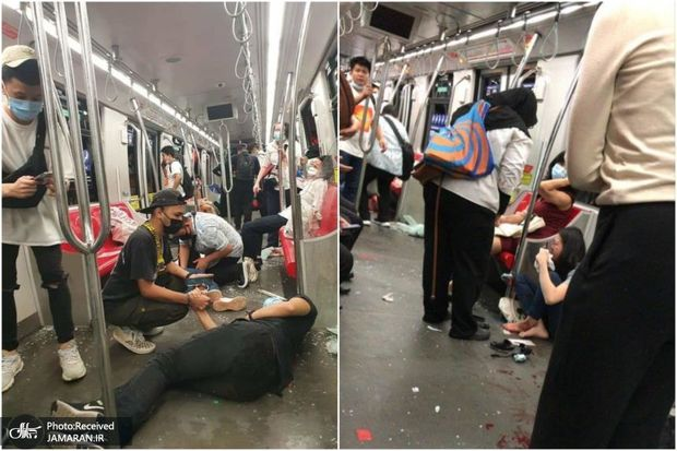 عکس/ حادثه در متروی کوالالامپور با 213 زخمی