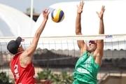 والیبال ساحلی ایران از صعود به نیمهنهایی قهرمانی آسیا بازماند