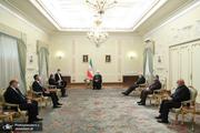 روحانی در دیدار وزیر خارجه عراق: تهران با هرگونه مداخله خارجی در امور داخلی عراق مخالف است