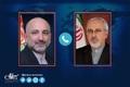 تماس وزیر خارجه افغانستان با ظریف/ محکومیت ترور شهید فخری زاده
