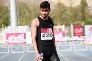 حسرت مرد المپیکی دوومیدانی ایران از غیبت تماشاگران/ پیرجهان: فقط می خواهم در توکیو رکورد خوب بزنم