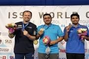 المپیکی ایران گل کاشت؛ فروغی قهرمان جام جهانی تیراندازی شد