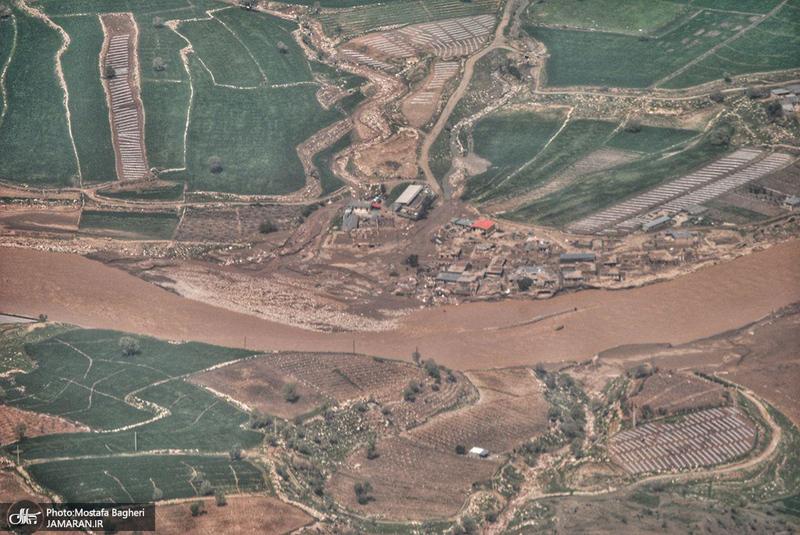 خسارات ناشی از سیل در پلدختر