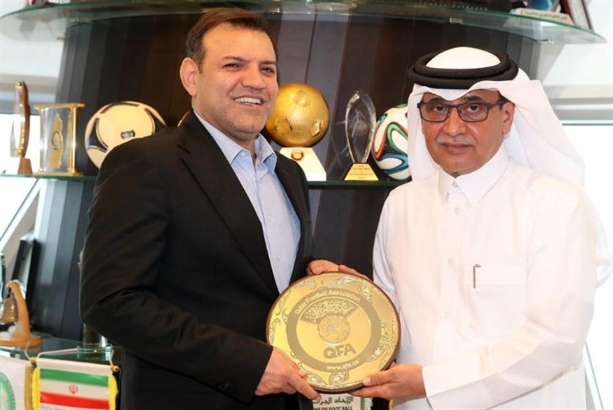 وعده دوباره همکاری ایران با قطر در جام جهانی!
