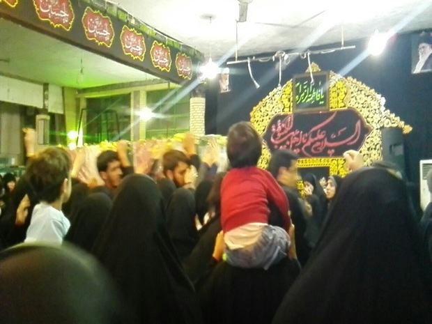 قائمشهری ها با پیکر شهید مراد مرتضوی وداع کردند