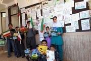 مشارکت اعضای کانون پرورش فکری کردستان در جشن انقلاب