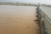 رودخانه گادر در اشنویه طغیان کرد