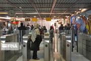 ۱۰ درصد به مسافران مترو تهران اضافه شد