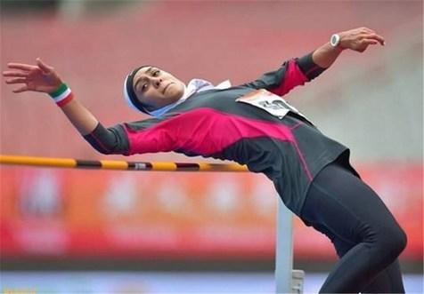 مدال نقره سپیده توکلی در رقابتهای دوومیدانی داخل سالن قهرمانی آسیا