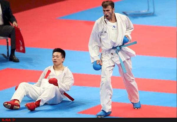 نشان نقره و برنز از آن کاراته کاران قزوینی در لیگ برتر کاراته وان چین