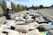 بیشاز یک تن انواع موادمخدر در ایرانشهر کشف شد