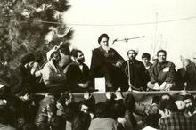 سخنرانى تاریخی امام خمینی (س) در بهشت زهرا