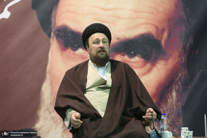 دیدار جمعی از محققان تاریخ انقلاب اسلامی با سیدحسن خمینی