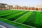 دومین زمین چمن مصنوعی فوتبال در سنقر احداث میشود