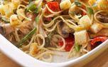 یک آشپزی ایتالیایی را تجربه کنید؛ طرز تهیه چیکن تترازینی