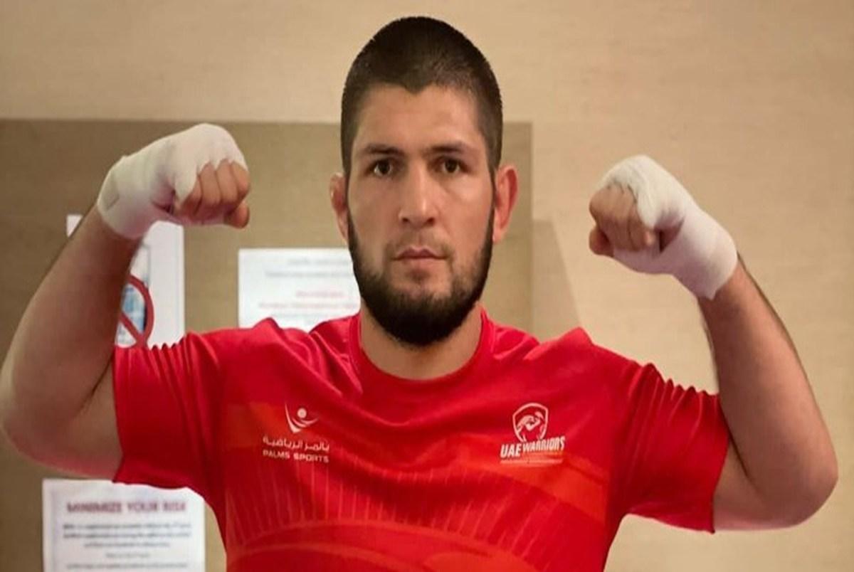 پیام تبریک بهترین مبارز UFC برای عید قطر+عکس