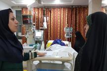 حضور معصومه ابتکار در بیمارستان برای مطلع شدن از وضعیت اعظم طالقانی + عکس