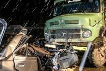 چهار نفر براثر تصادف در راه های کردستان فوت کردند