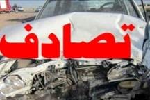۵ کشته در برخورد تریلی با پراید در محور اهواز_ خرمشهر