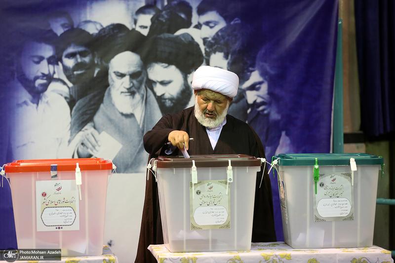 انتخابات 1400 در حسینیه جماران - 1