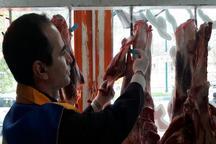 638 کیلوگرم گوشت غیر قابل مصرف در ماکو معدوم شد