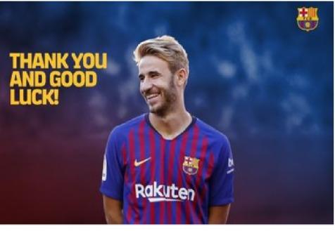 بازیکن جوان بارسلونا به ویسل ژاپن پیوست + عکس