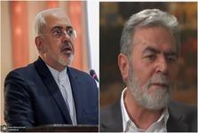 گفتگوی تلفنی ظریف با دبیرکل جنبش جهاد اسلامی و رییس دفتر سیاسی حماس