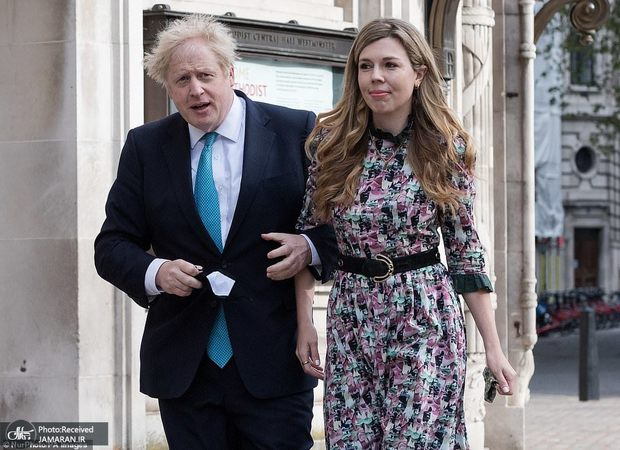 سومین ازدواج نخست وزیر انگلیس در یک مراسم مخفیانه + تصاویر