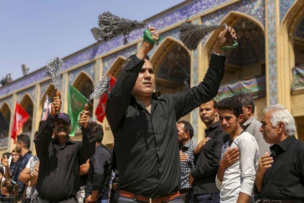 مازندران در سوگ ساقی علمدار