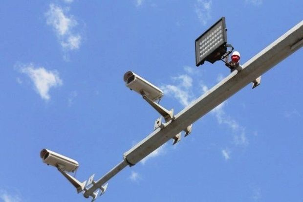 ۲۰ نقطه معابر شهری سمنان مجهز به دوربین نظارتی است