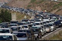 جاده هراز عصر جمعه یکطرفه میشود  ترافیک سنگین در محور فیروزکوه