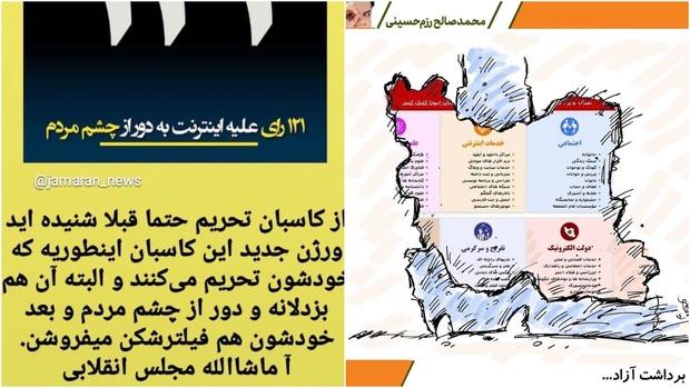 نامه اعتراض آمیز رضا کیانیان به قالیباف در مورد طرح ضد اینترنت/ رییس مجلس پاسخ داد