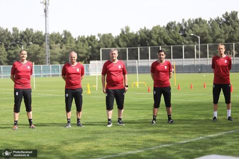 گزارش تصویری| سومین تمرین تیم ملی فوتبال در 1400
