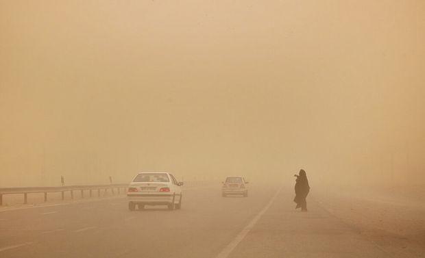 شاخص آلایندگی هوا در ریگان به ۲۰ برابر حد مجاز رسید