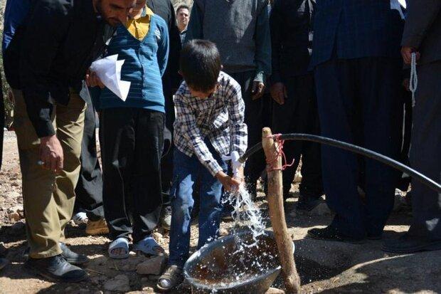 بهرهبرداری از ۲۵ پروژه آبرسانی به روستاهای کرمانشاه تا پایان سال
