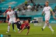 ادامه خرافات در فوتبال اروپا؛ پرواز دانمارکی های پرشور به نیمه نهایی با غلبه بر چک+ عکس و ویدیوی گل ها