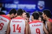 سومین برد پیاپی تیم ملی بسکتبال جوانان در تورنمنت تایلند