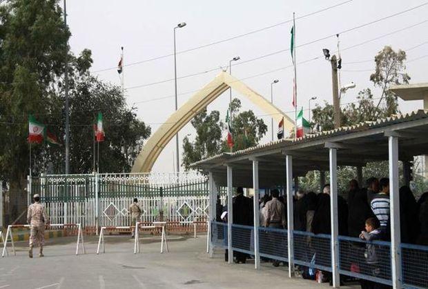 مرزهای خسروی و پرویزخان برای تردد مسافر و زائر بسته است