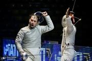 شکست شمشیربازان سابریست ایران مقابل تیم اول جهان