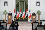 روحانی: در کنار ملت عراق برای ثبات و امنیت منطقه تلاش می کنیم | الکاظمی: اجازه نمیدهیم هیچ گونه تهدیدی از خاک عراق متوجه ایران باشد