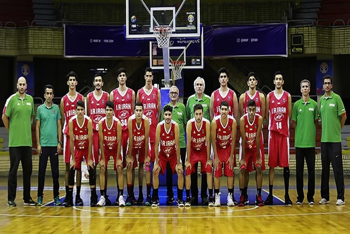 شکست جوانان بسکتبالیست ایران در جام جهانی