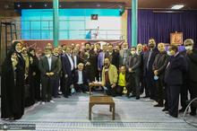 دیدار دبیر کل و اعضای شورای مرکزی حزب مردم سالاری با سید حسن خمینی