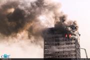 خانواده شهدای آتشنشان مقابل پلاسکو حاضر شدند+ تصاویر